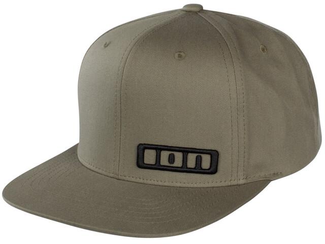 ION Logo Huvudbonad oliv